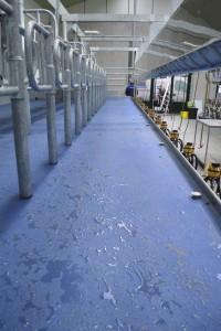 Inloop met flush floor